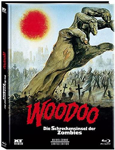 Woodoo - Die Schreckensinsel der Zombies - Mediabook - Cover D - Limited Edition (+ DVD) [Blu-ray]
