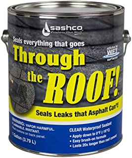 Sashco Gallon Clear Roof Sealant