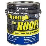 Sashco 14004 Gallon Clear Roof Sealant