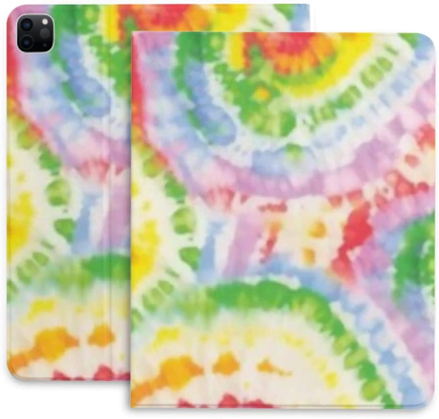 Case for Ipad Finally resale start Pro 12.9 Rainbow Spiral Prote Dye Swirl All items in the store Hippie Tie