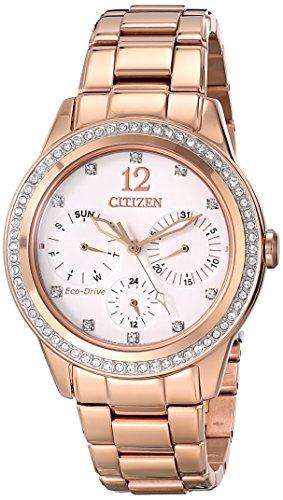 Citizen FD2013-50A - Orologio da polso da donna colore oro rosa