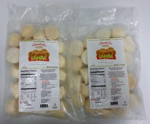 Pao De Queijo Congelado 2 Pack (1kg Each) Family Size - Frozen Cheese Bread