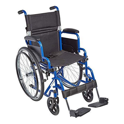 "Circle Specialty, Ziggo 16"" Seat Width Pediatric Wheelchair for Kids & Children, Lightweight, Manual Folding Wheelchair w/Safety Belt, Swing-Away Foot Support w/Straps, Desk Length Arm Rests"