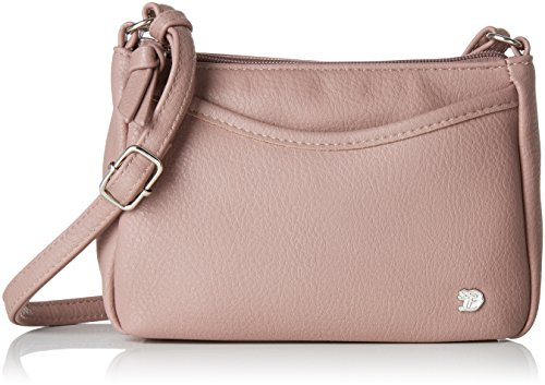 TOM TAILOR Denim Umhängetasche Damen, Rosa, Cilia, 21,5x4x14 cm, TOM TAILOR Denim, Schultertasche, Handtasche