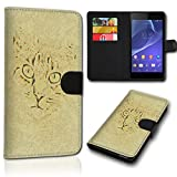 sw-mobile-shop Book Style Alcatel One Touch Pop 4 Tasche