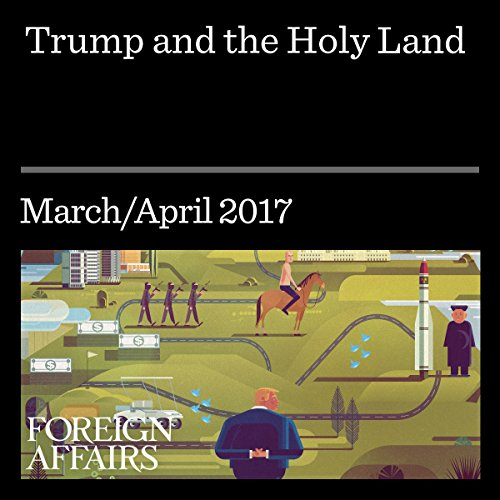 Trump and the Holy Land audiobook cover art