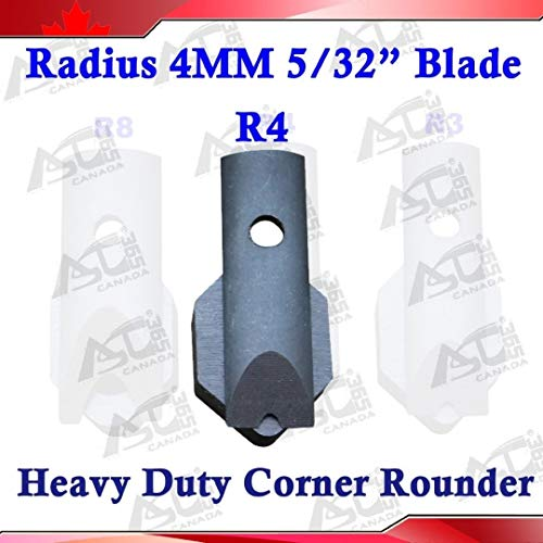 """R4 Radius(5/32"""") Replaceable Die Blade for All Metal Corner Rounder Punch Cutter"""