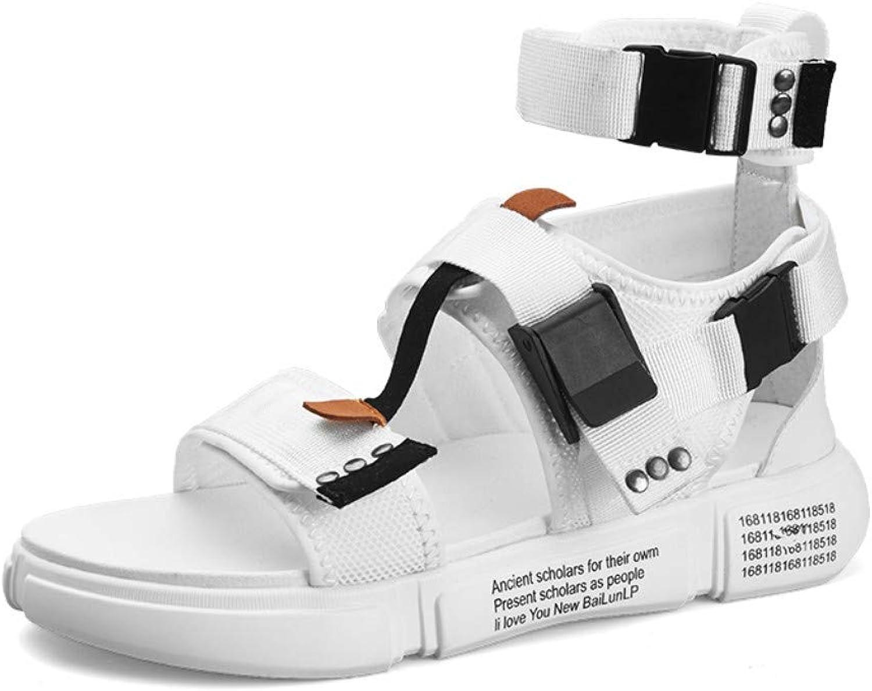 Flip-Flops Outdoor Sports Sandals Sommer-Strandschuhe für Herren Schuhe zur Steigerung der Schuhe Sandalen für Herren