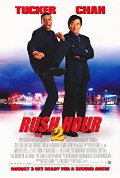 Rush Hour 2 11x17 Movie Poster  2001