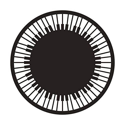 Alfombrilla de Franela para Silla de Escritorio, Alfombrilla Lavable para Oficina, para(140cm in Diameter)