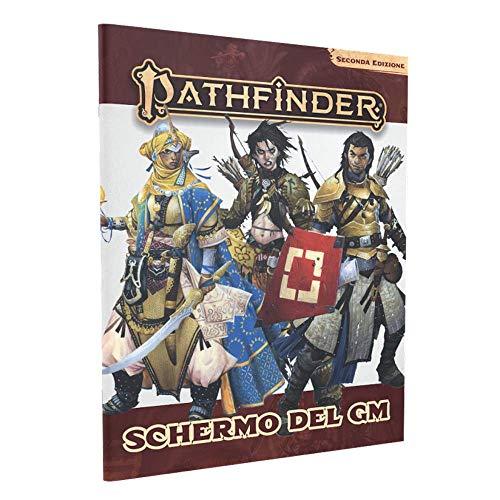 Giochi Uniti- Pathfinder Seconda Edizione Schermo del GM Gioco da Tavolo, Multicolore, GU3601
