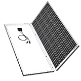 BougeRV 180 Watts Mono Solar Panel, 12 Volts Monocrystalline Solar Cell Charger High Efficiency Module for RV Marine Boat Off Grid