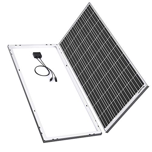 BougeRV 180 Watts Mono Solar Panel, 12 Volts Monocrystalline Solar Cell Charger