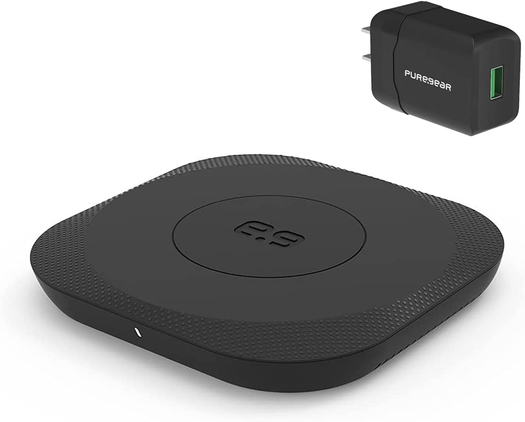 PureGear 15W Wholesale Qi-Certified Fast Wireless Pad Charging for Galaxy Indianapolis Mall