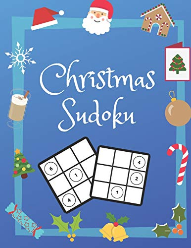 Christmas Sudoku: 100 Pages With Sudokus On Easy Level | Relax and Solve | Large Print, Perfect Gift For Advent Time (125 Pages, 8.5 x 11)