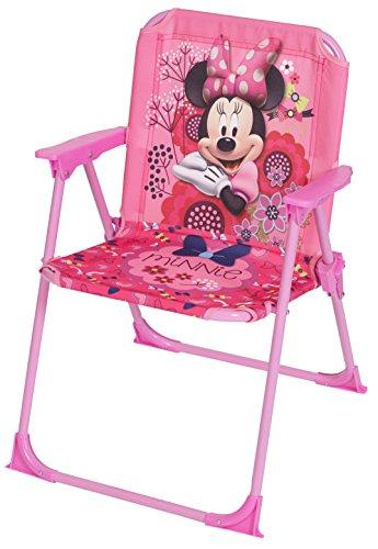 Disney - Sedia Pieghevole, Motivo: Minnie, 52 x 37 x 35 cm, Colore: Rosa