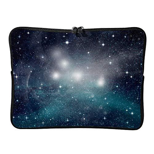 Täglich Laptoptaschen Aufgewertet Langlebig - Universe Tablet-Taschen Geeignet für Geschäftsreisen White 12 Zoll
