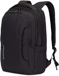 SWISSGEAR 3573 LAPTOP BACKPACK for School, Work, and Travel- BLACK/WHITE LOGO