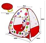 Kinderzelt für drinnen und außen | Wurfzelt | 90 x 90 x 95 cm | Spielzelt für Mädchen & Jungs |...