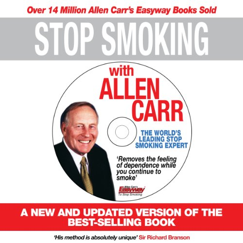 Stop Smoking with Allen Carr     Plus a Unique 70 Minute Seminar Delivered by the Author              By:                                                                                                                                 Allen Carr                               Narrated by:                                                                                                                                 Richard Mitchley                      Length: 5 hrs and 42 mins     29 ratings     Overall 4.3