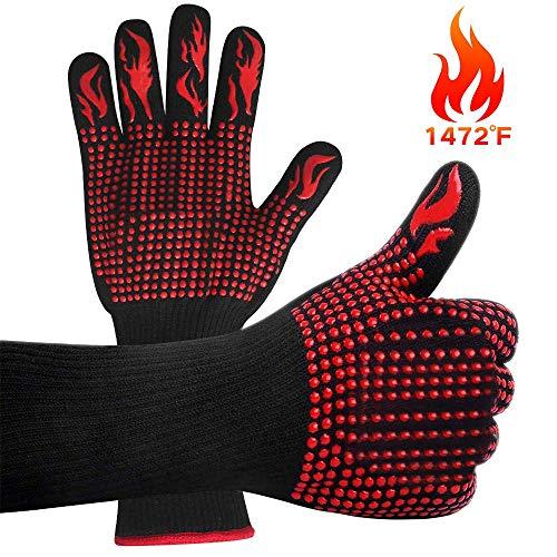 classement un comparer Gants de gril VINSIC, gants de surchauffe pour fours jusqu'à 800 ° C Gants de four universels…