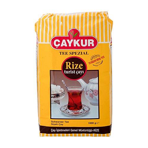 Caykur Rize Turist, türkischer schwarzer Tee, 2er Pack (2 x 1 kg)