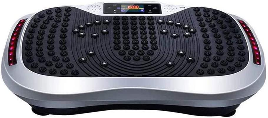 ZOUJIANGTAO Vibration Max 75% OFF Plate Exercise Workout Whole Body Rare Machine