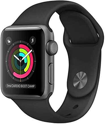 Apple Watch Series 2 Smartwatch 42mm Space Gray Aluminum...