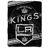 NORTHWEST NHL Los Angeles Kings Raschel Throw Blanket, 60' x 80', Stamp