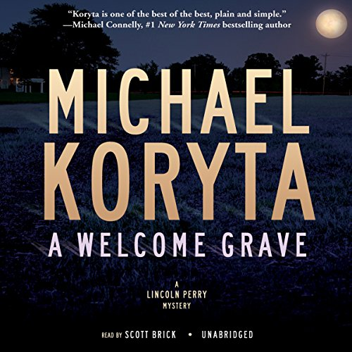 A Welcome Grave  audiobook cover art