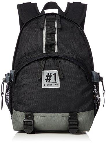 [エックスガール] 1 X-girl SK8 MINI BACKPACK 05182002 BLACK One Size