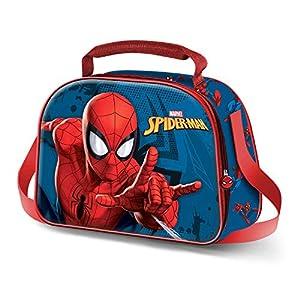 Karactermania Spiderman Crawler – Bolsa Portameriendas 3D, Multicolor, Un tamaño