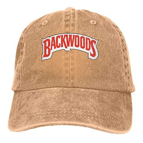 goodbe Backwoods Cigars JR Cigar Adjustable Camper Cotton Washed Denim Hat Natural