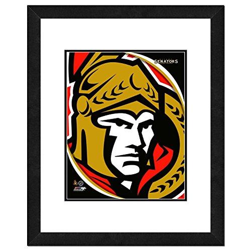 Ottawa Senators NHL Framed 8x10 Photograph Team Logo and Hockey Puck