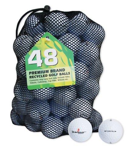 Second Chance Golfbälle 8 Dunlop - Bolas recicladas, de Segunda Mano de Golf