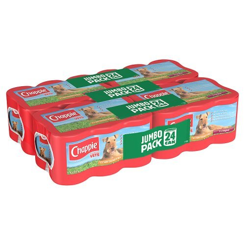 Chappie Dog Food Cans Favourites, 24 x 412g
