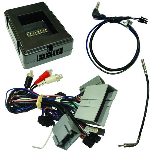 Crux SWRFD-60L Radio Replacement Interface retains Steering Wheel Control...