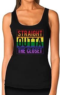 TeeStars - Straight Outta The Closet Gay & Lesbian Pride Women Tank Top