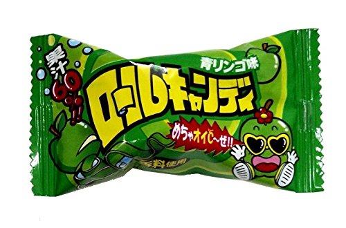 やおきん ロールキャンディ青リンゴ味 20g×24袋