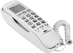 $28 » Sponsored Ad - Wall Mounted Telephone, One-button Redial/ Clear Sound Corded Phone with Caller Display for Home /Office, H...