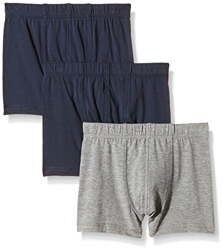 NAME IT NAME IT Baby-Jungen NITTIGHTS K B NOOS Unterhose, Mehrfarbig (Grey Melange), 152 (Herstellergröße: 146-152) (3er Pack)