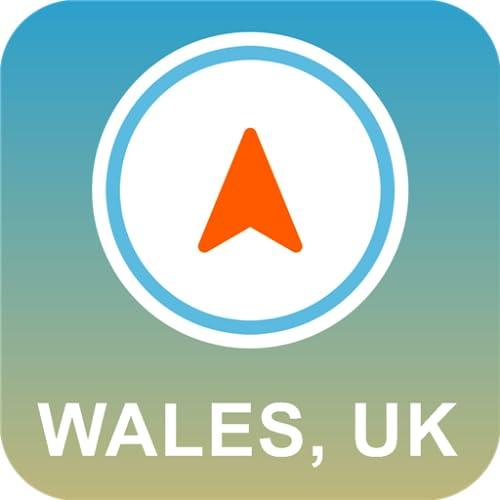 Wales, Großbritannien GPS