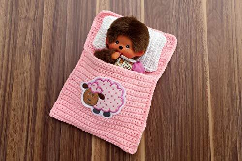 Puppenbettchen - Schlafsack für Monchichi 20 cm Nr 6