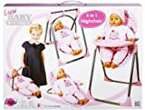 Lissi Chaise Haute 4 en 1 pour Poupee jusqu a 40 cm (Non Incluse) Dolls - 61100a
