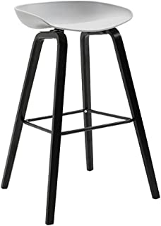 Chair Bar stool chair footrest with ergonomic chair seat Dining chairs Stools for breakfast Kitchen Pub Cafcute; Stool bar...