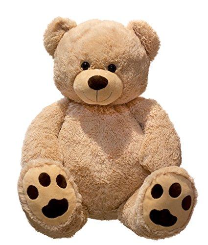 Lifestyle & More Riesen Teddybär Kuschelbär XXL 100 cm groß Plüschbär Kuscheltier samtig weich - zum liebhaben