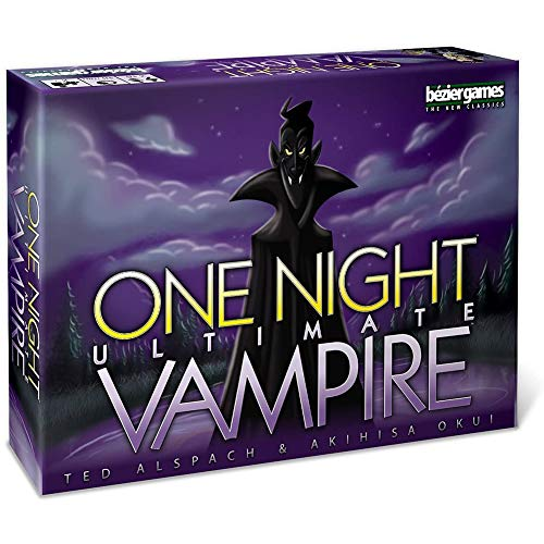 One Night Ultimate Vampire Game, Kartenspielset Mit Interaktions-Gadget Für Familien, Kinder, Kinder