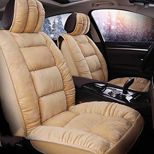 Siège de voiture, d 'habitation, d ' avion, de bureau ou d 'habitation intérieur en peluche courte, tapis d ' hiver, Comfort GM, double, siège du conducteur et siège du copilote double. 2 places.