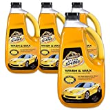 Armor All Ultra Shine Car Wash and Wax - For Cars & Truck & Motorcycle, 64 Fl Oz Bottles - Pack of 4, 10346