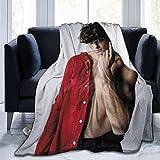Manta de edredón Noah Centineo Manta Ultra Suave Micro Fleece Throw Blanket Ligero Manta de decoración del hogar Regalo para niños Adultos